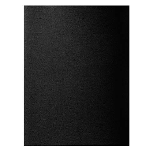 "Exacompta 800018E - Lote de 100 Subcarpetas Rock""S 80, Color Negro"