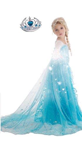 Ice Princes Costume Dress Set for Girls