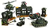 Sluban M38-B7100 - modulare - Esercito - sede