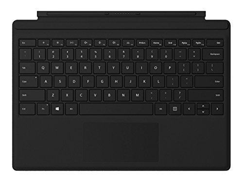Microsoft Surface Pro Type Cover Schwarz Fingerprint