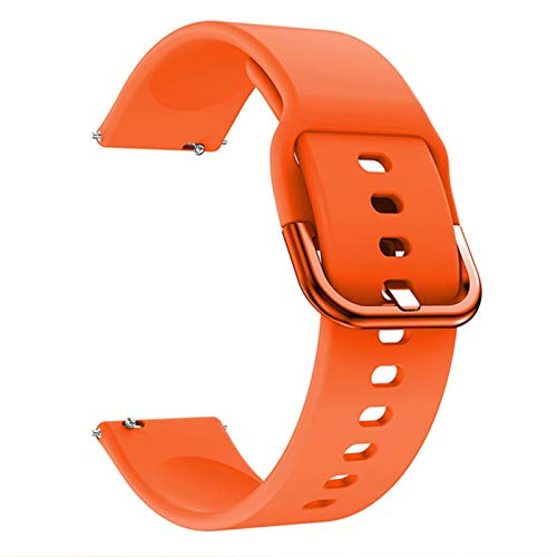 LXF JIAJU Banda de Reloj de Silicona para Samsung Galaxy Watch 3 41mm 45mm Pulsera Correa Deportiva Inteligente para Samsung Galaxy Watch 42mm Reloj de Reloj