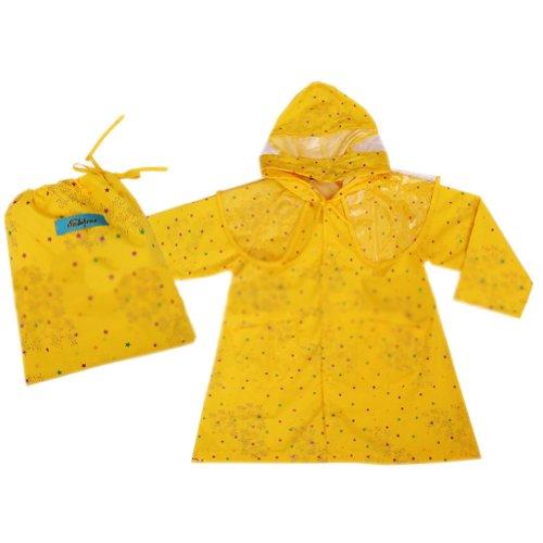 Bling Starstoddler pluie Wear mignon bébé Veste de pluie Infant imperméable Jaune S 2Y