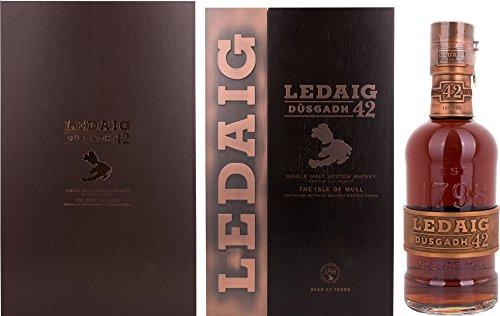 Ledaig 42 Years Old Dusgadh 1972 in Holzkiste mit Lederoptik Whisky (1 x 0.7 l)