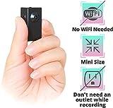 CREUSA® Hidden Camera, no Wi-Fi Needed Spy Camera Tiny Thumb-Size 1080P Portable Motion