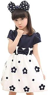 ワンピース ドレス フォーマル デイジー 小花柄 リボン 子ども服 キッズ 女の子 ガールズ 110
