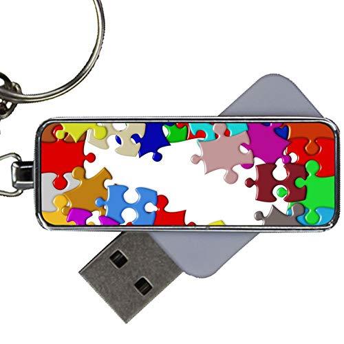 Usar En USB Drive 8Gb Metallica Amazonas Niños Diseño Puzzle Art