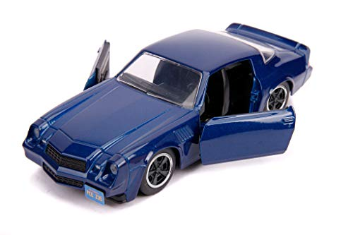 Billy's Chevrolet Camaro Z28 Metallic Dark Blue Stranger Things (2016) Serie TV Hollywood Rides 1:32 Diecast Model Car by Jada 31113