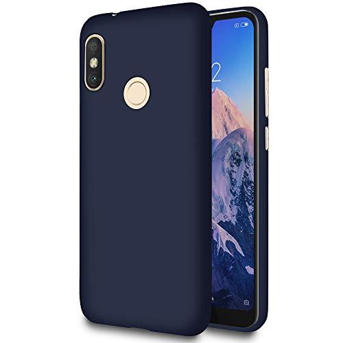 United Case Funda Blanda para Xiaomi Mi A2 Lite (Redmi 6 Pro)   TPU   en Azul Marino  