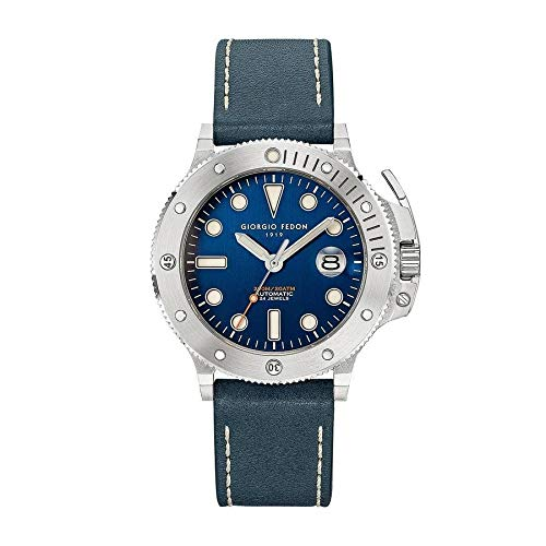 Giorgio Fedon - Reloj automático para hombre Aquamarine II azul GFCR006