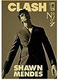 CAIRONG Leinwand Poster Shawn Mendes Hübscher Sänger