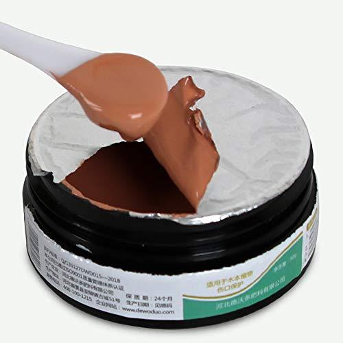 yummyfood Mastic Cicatrisant, Arbre Bonsaï Baume pour Plaies Blessure Scellant pour La Greffe De Plantes De Jardin, Cicatrisant Et Protecteur, 50g