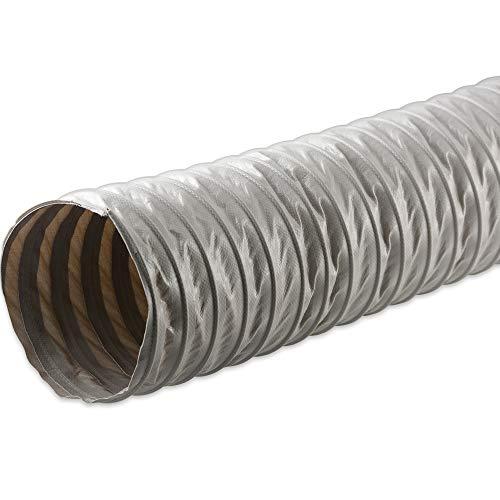Fittingteile - Manguera de ventilación para climatización, con revestimiento de PVC, tejido de poliéster difícilmente inflamable (tubo de diámetro interior: 250 mm).