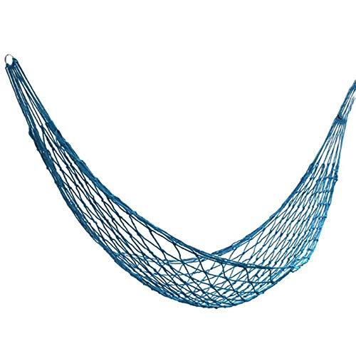 NOBRAND Nylon Portable Garden Mesh Hammock Hanging Sleeping Bed Swing Outdoor Travel Camping