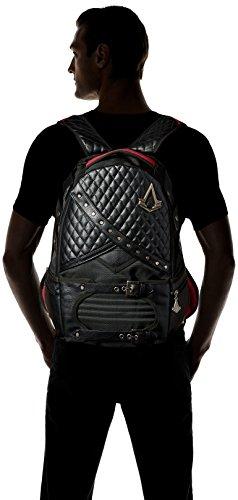 Bioworld Mens Assassins Creed Laptop Backpack Backpacks - Black -