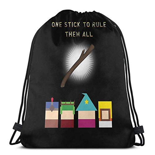 One Stick to Rule Them All Sport Sackpack Mochila con cordón para gimnasio