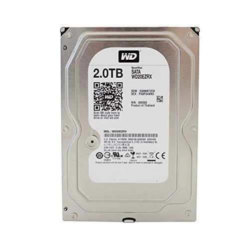 Western Digital Green WD20EZRX 2TB interne Festplatte (8,9 cm (3,5 Zoll), IntelliPower, 8,9ms, 64MB Cache)(Generalüberholt)
