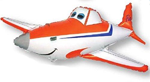 Grabbo Folienballon Sportflugzeug