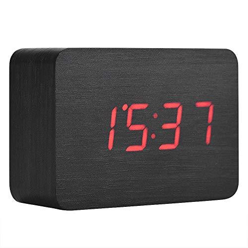 Despertador Digital Madera  marca Eboxer