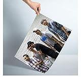 MTHONGYAO Poster Backstreet Boys Poster Rockmusik Sänger
