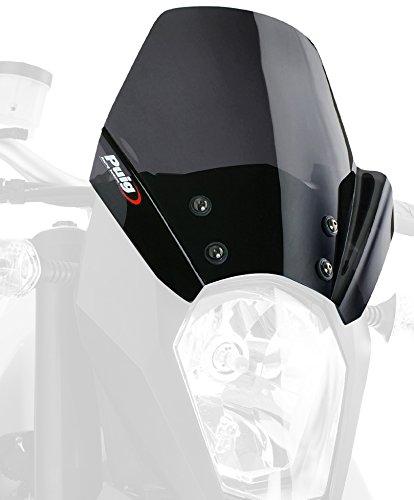 Puig 5173F Windschutzscheibe New Generation KTM 990 SuperMoto/r 09 -12 Transparent / Dunkelgrau Rauch
