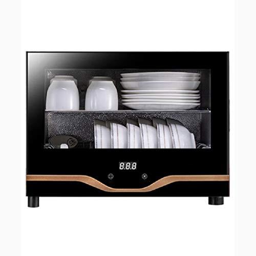 YangJ Geschirr Desinfektionsschrank Vertikal, Haushalt Mini kleines Geschirr Hochtemperatur Desktop-Arbeitsplatte Desktop-Schrank