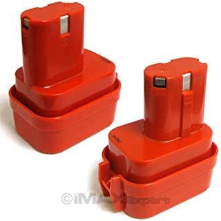 2 x 9.6V 9.6 VOLT Battery for MAKITA 9100 9101 9102 2.0AH Power Tool