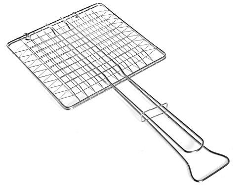 Filtex 11345 Grille chromée gravée 27 x 27 sans plateau 272 ustensiles de cuisine, acier, argent