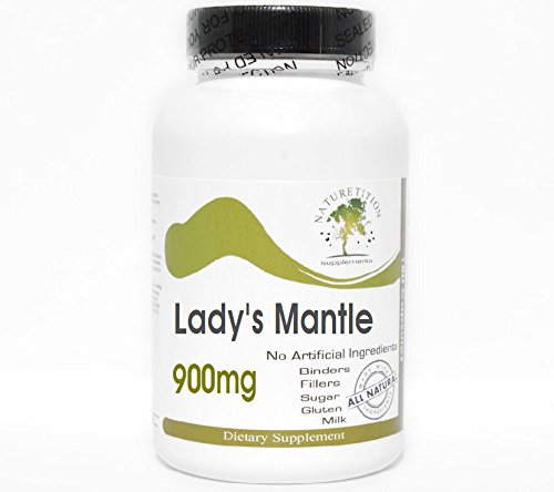 Lady's Mantle 900mg Alchemilla Vulgaris ~ 180 Capsules - No Additives ~ Naturetition Supplements
