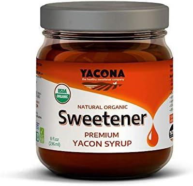 Yacona Natural Yacon Sweetener Premium Yacon Syrup Superfood High Fiber Low Calorie Naturally product image