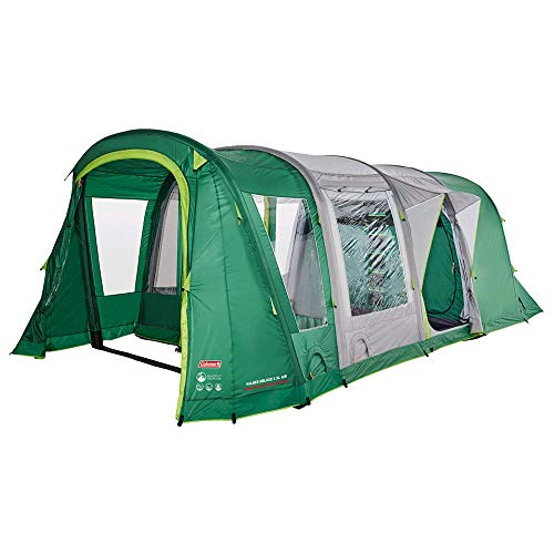 Coleman Valdes Deluxe 4XL Air BlackOut 4 Man Tunnel Tent Green