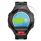 VacFun 3 Piezas Claro Protector de Pantalla, compatible con Alcatel One Touch Go Watch, Screen Protector Película Protectora(Not Cristal Templado) NEW Version