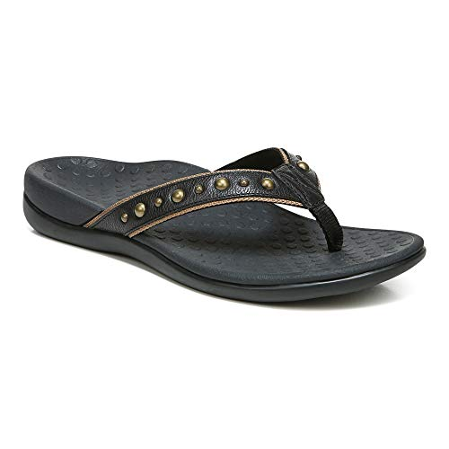 Vionic Women's Vanessa Toe-Post Sandal - Ladies Everyday Sandals with Concealed...