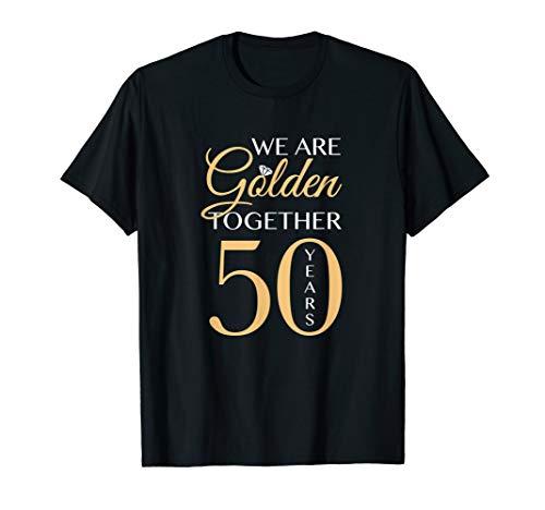 Romantic Shirt For Couples - 50th Wedding Anniversary T-Shirt