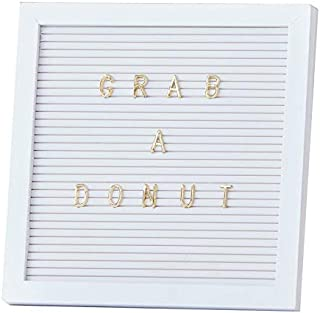 Ginger Ray Wedding Signs Message Board Pegboard Wedding Decorations Wedding Supplies Write Your Own Donut Wall Etc Message 161 Gold Letters 10