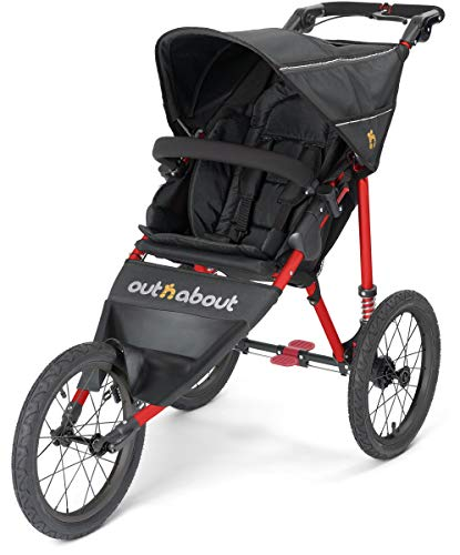 Out n About Nipper Sport V4 Special Edition Kinderwagen Raven Black mit...