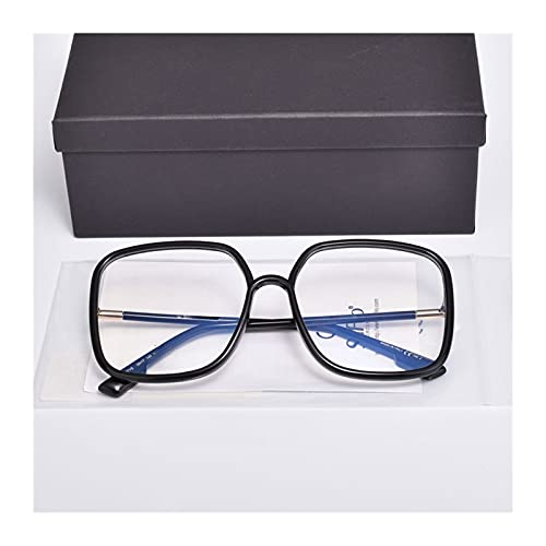 WIYP Diseño de Marca de Lujo Big Square Sunglasses Sungasses Drive Travel UV400 Gafas con Embalaje Original (Lenses Color : Orange)