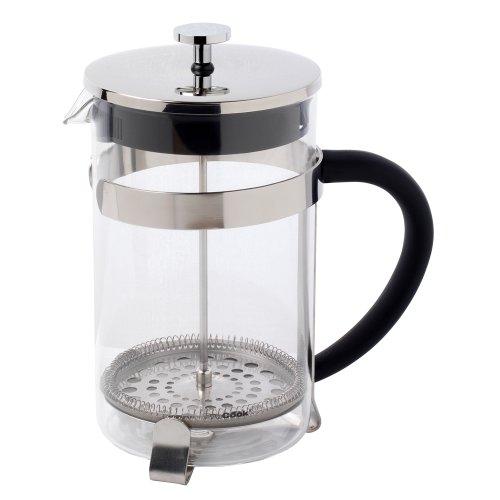 ProCook Kaffeebereiter aus Glas mit Soft-Grip-Griff, 12 Tassen / 1,5 l