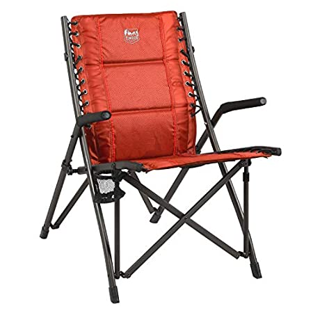 Timber Ridge Fraser Deluxe Bungee Chair front view.