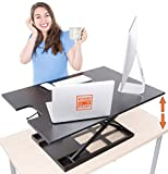 X-Elite Pro XL Standing Desk - Instantly Convert Any Surface to a...