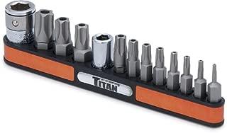 Titan Tools 16137 Tamper Resistant Star Bit Socket Set - 13 Piece