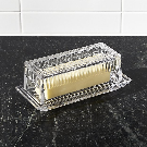 1 Stick Butter Dish + Reviews | Crate and Barrel