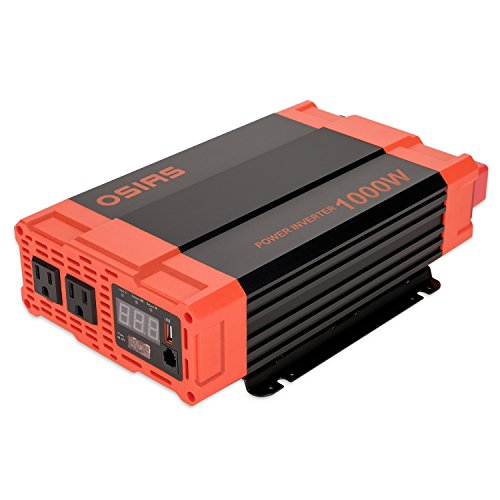 Why Should You Buy OSIAS 1000W Power Inverter 12V DC to 110V AC Car Converter 2 AC Outlets 2.1A USB ...