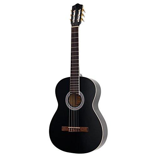 Bird CG1 4/4 - Guitarra clásica, color negro