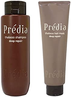 コーセー プレディア Predia タラソシャンプー&タラソヘアマスク レギュラーサイズセット