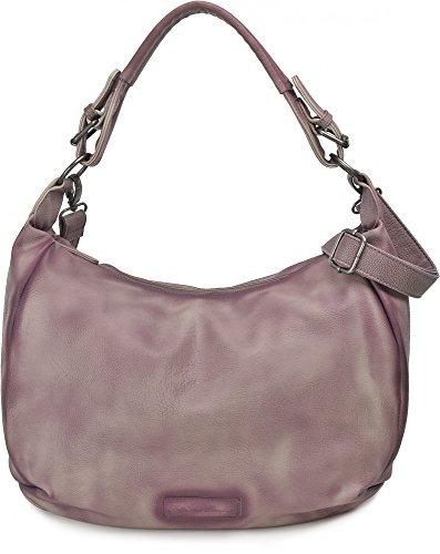 FRITZI AUS PREUSSEN, Damen Handtaschen, Henkeltasche, Hobo-Bag, 42 x 28 x 14 cm (B x H x T), Farbe:Mauve
