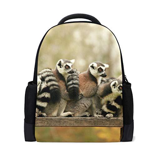 FANTAZIO - Abalorios para mochila, diseño de animales acuáticos de Madagascar Lemur
