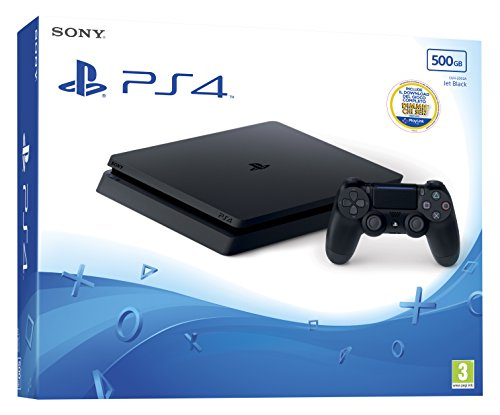 Sony PlayStation 4 Slim + That's You! Negro 500 GB Wifi - Videoconsolas (PlayStation 4, Negro, 8192 MB, GDDR5, AMD Jaguar, AMD Radeon)