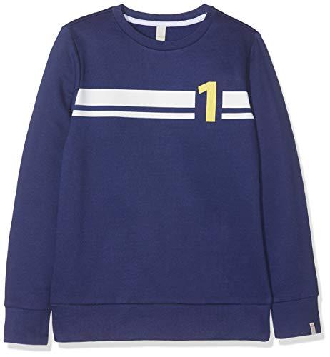 ESPRIT KIDS Jungen RP1500607 Sweatshirt, Blau (Marine Blue 446), 140 (Herstellergröße: S)