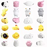 Amaza 24pcs Squishys Kawaii Squishy Juguetes Squishies Animales Slow Rrising Squeeze Kids Toy Gift (Multicolor)