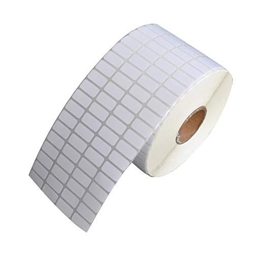 BLOUR 500 Stück/Rolle Klebstoff Thermoetikett Aufkleber Papier Supermarkt Preis Blankoetikett Direktdruck Wasserdichter Druck Verbrauchsmaterial